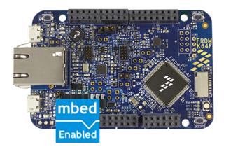 FRDM-K64F (ARM Cortex-M4 w/Ethernet)